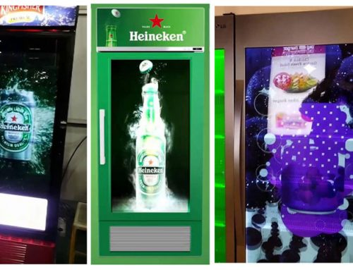Why transparent LCD fridge displays didn't work?